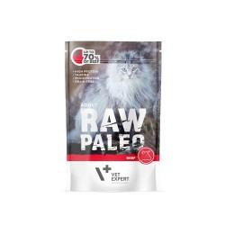 RAW PALEO karma mokra dla kotów dorosłych - wołowina (pakiet 12x 100g)