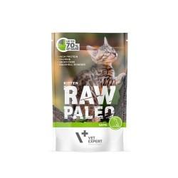 RAW PALEO karma mokra dla kociąt - dziczyzna (pakiet 12x 100g)