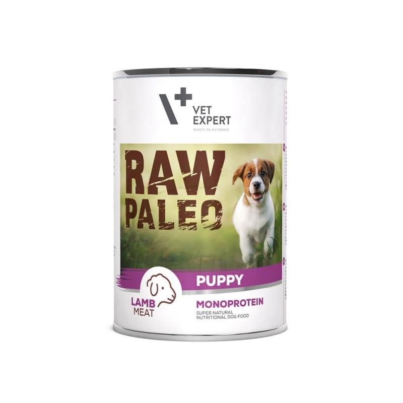 RAW PALEO karma mokra dla szczeniąt - jagnięcina (pakiet 6x 400g)