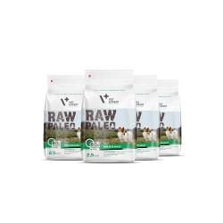 RAW PALEO karma dla psów dorosłych ras małych - pakiet promocyjny 4x 2,5kg