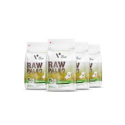 RAW PALEO karma dla szczeniaków ras małych - pakiet promocyjny 4x 2,5kg