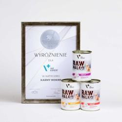 Raw Paleo Adult Dog Beef - mokra karma dla psów dorosłych - Nagroda