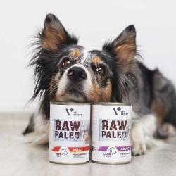 RAW PALEO karma mokra dla psów dorosłych - jagnięcina