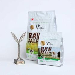 RAW PALEO karma dla psów dorosłych ras małych - Nagroda