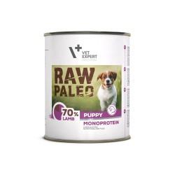 RAW PALEO karma mokra dla szczeniąt - jagnięcina (pakiet 6x 800g)