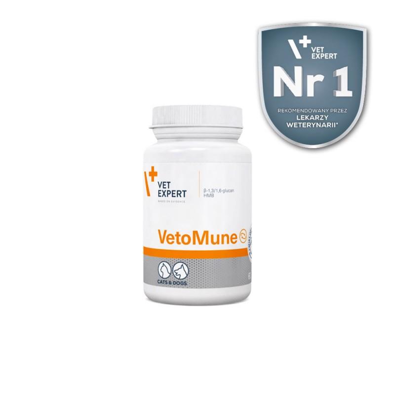 VetoMune preparat wspomagający odporność dla psów i kotów