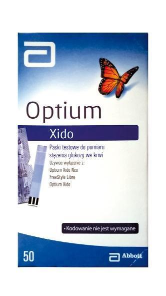 OPTIUM XIDO GLUCOSE